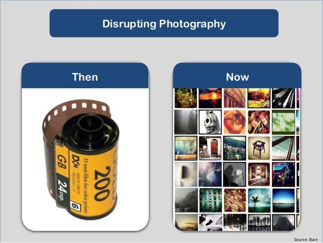 Disrupting Video  Then  Now  Source: KPCB