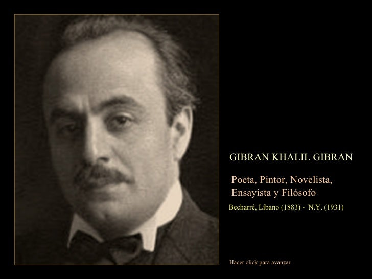 Khalil Mail: Gibran Khalil Gibran