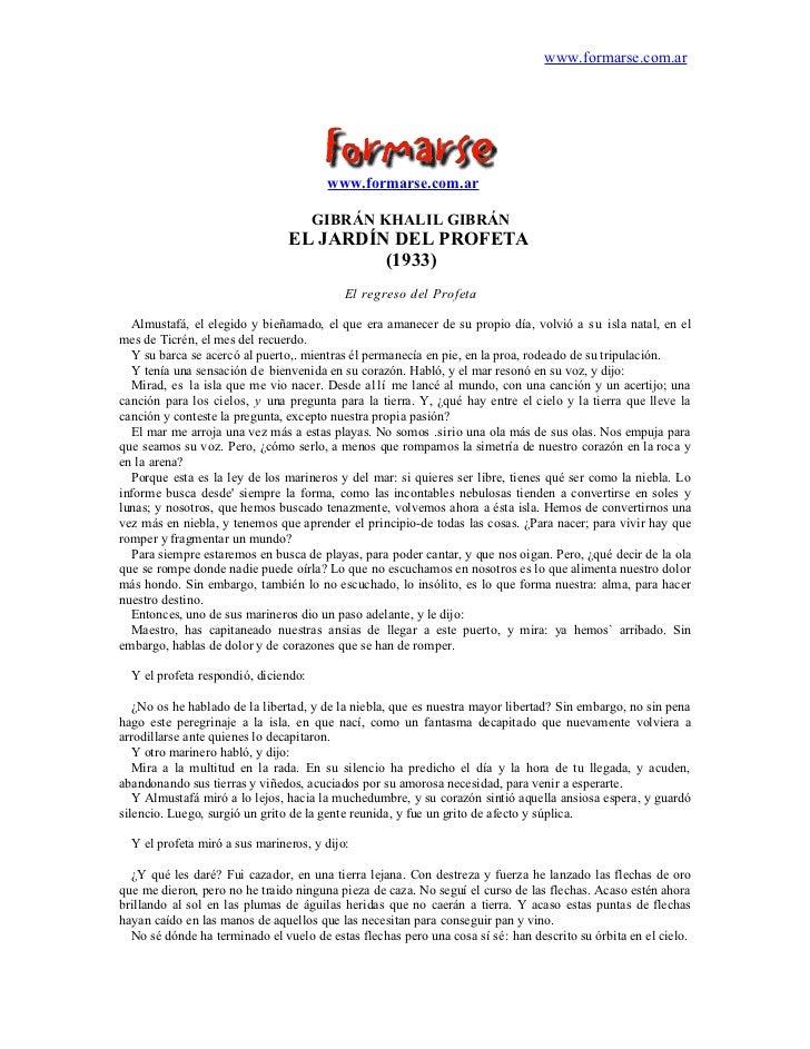 www.formarse.com.ar                                       www.formarse.com.ar                                      GIBRÁN ...
