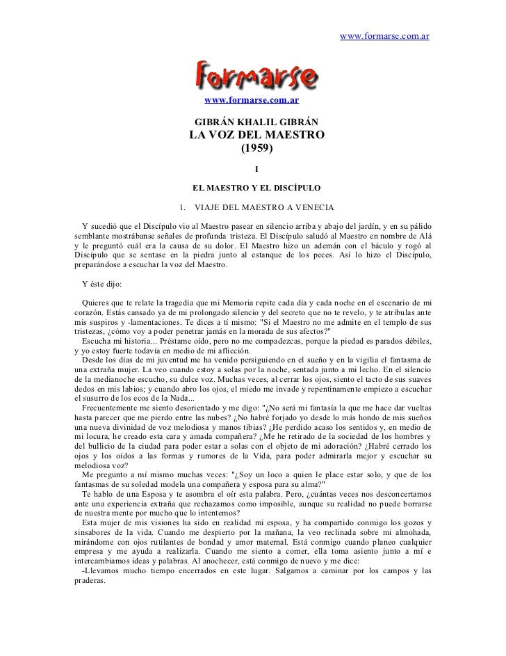 www.formarse.com.ar                                     www.formarse.com.ar                                   GIBRÁN KHALI...