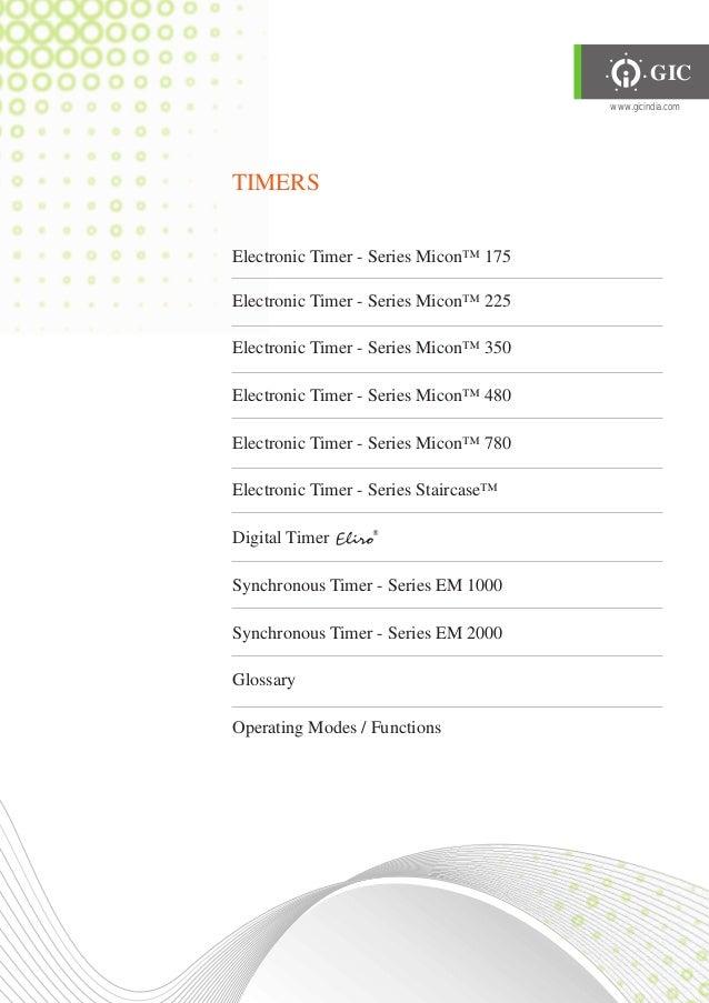 Gic product catalogue