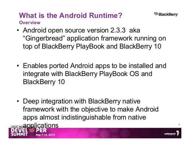 Bring Your Android Apps to BlackBerry 10 in minutes
