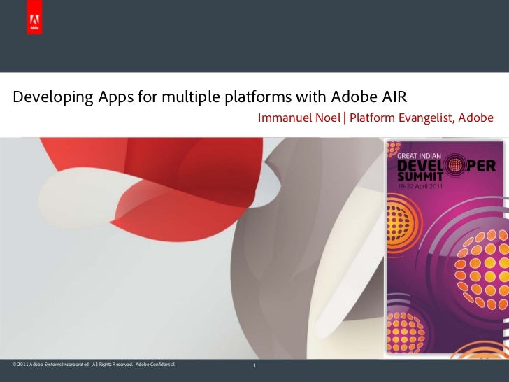 Developing Apps for multiple platforms with Adobe AIR                                                                     ...