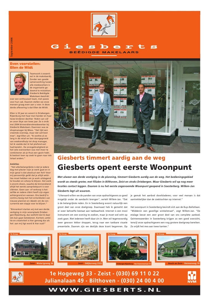 September 2006   www.giesberts.nl                                                                                         ...