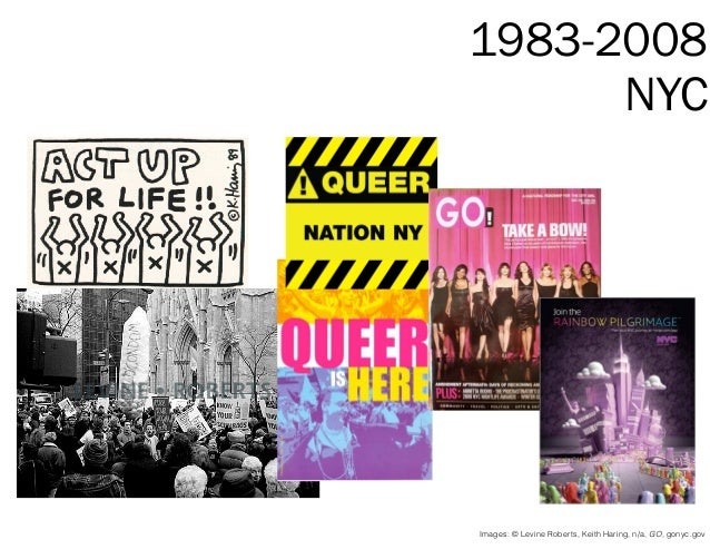 1983-2008 NYC Images: © Levine Roberts, Keith Haring, n/a, GO, gonyc.gov