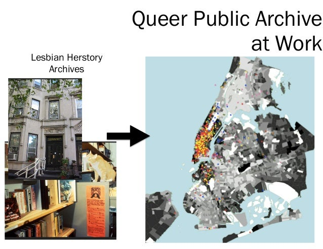 Queer Public Archive at WorkLesbian Herstory Archives