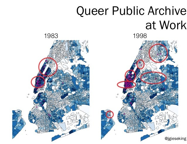 Queer Public Archive at Work 1983 1998 @jgieseking
