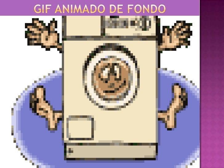GIF Animado de Fondo<br />