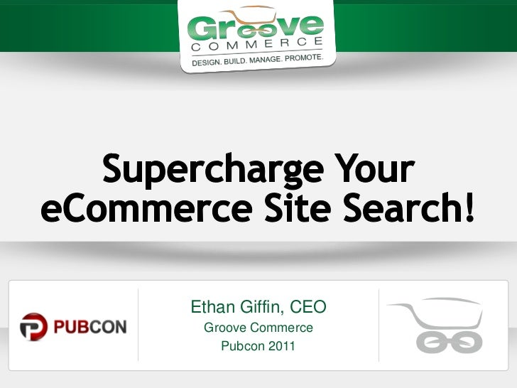 Ethan Giffin, CEO Groove Commerce   Pubcon 2011