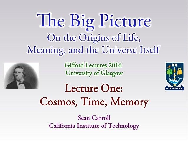 Sean Carroll California Institute of Technology
