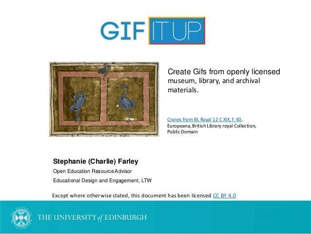 Stephanie (Charlie) Farley Open Education Resource Advisor Educational Design and Engagement, LTW Except where otherwise s...