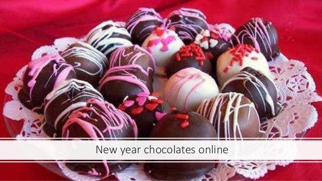 New year chocolates online