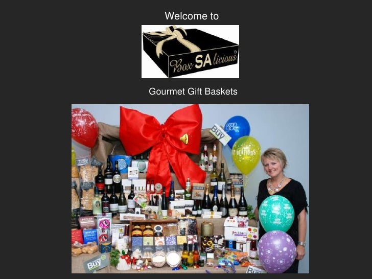 Welcome toGourmet Gift Baskets