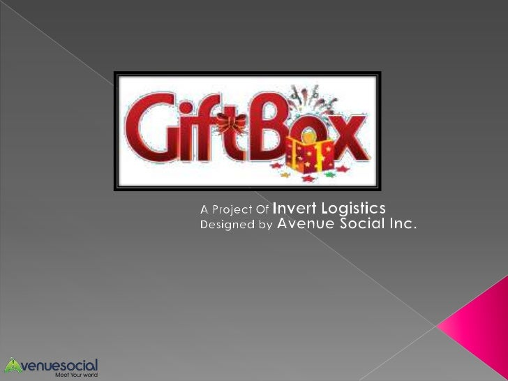 GiftBox is a Social GiftingApp designed to work forFacebook, Android andiPhone platforms.It is developed by AvenueSocial I...