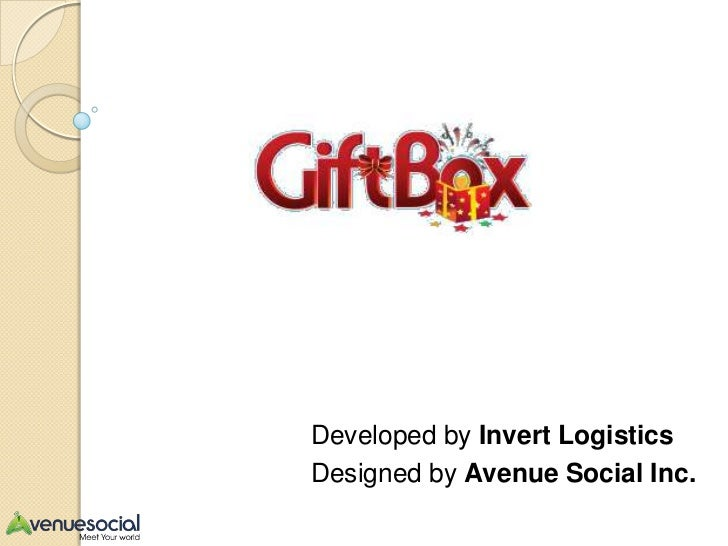 Developed by Invert LogisticsDesigned by Avenue Social Inc.