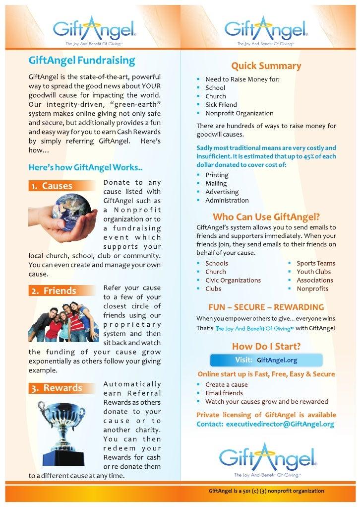 GiftAngel Brochure