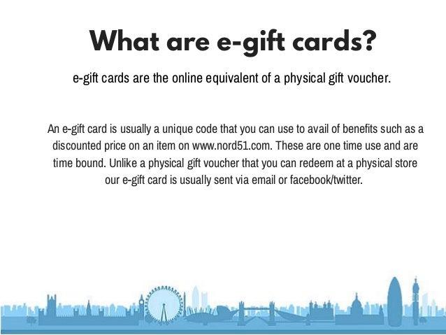 e-Gift card user guide   Nord51
