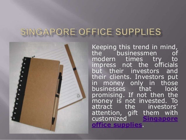 Gift Customized Office Supplies To Your Partners For Better Business Article