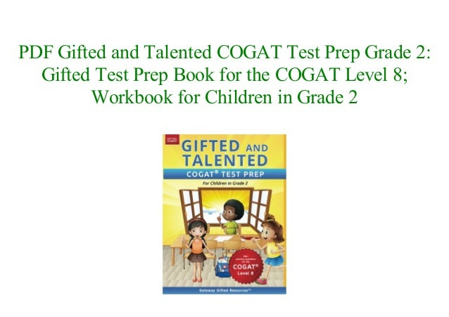 Books Gifted And Talented Cogat Test Prep Grade 2 Gifted Test Prep B