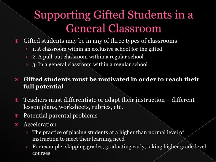Define Gifted And Talented 4