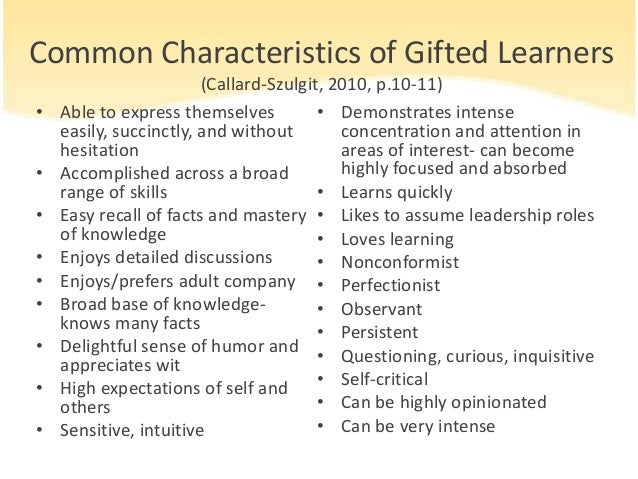 Gifted Students Essays (Examples)