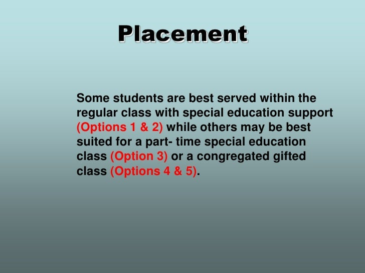 Gifted power point sert inservice 2010 Slide 2