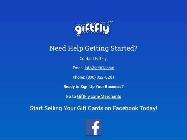 How to start selling gift cards on facebook 8 colourmoves