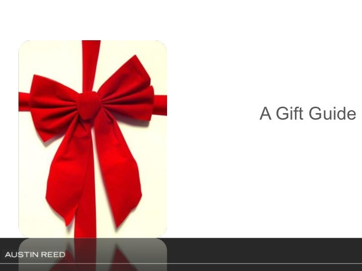 A Gift Guide
