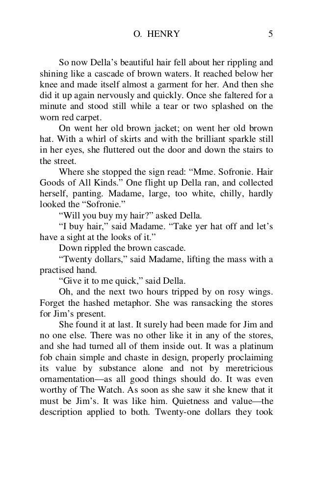 the gift of the magi worksheet pdf