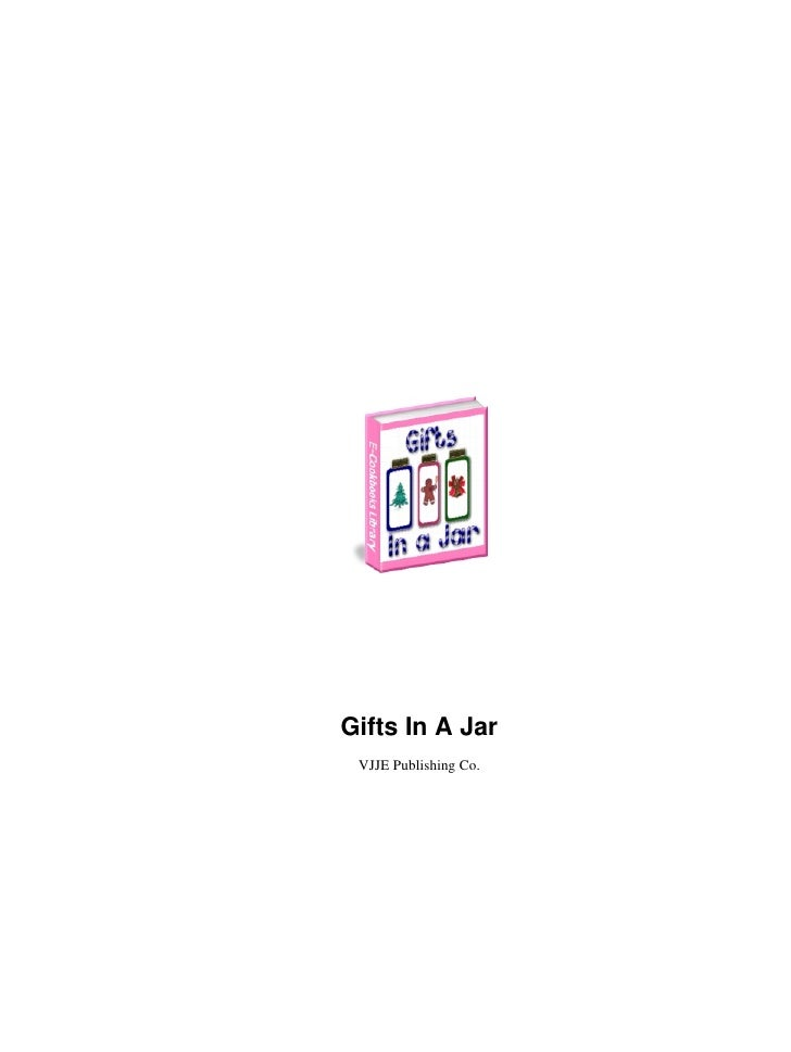 Gifts In A Jar VJJE Publishing Co.