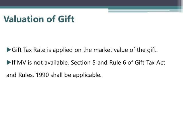 Gift tax presentation