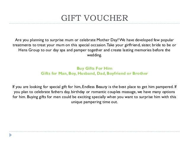 create gift voucher