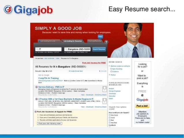 easy resume search free resume search for recruiters - Free Resume Search Sites For Employers