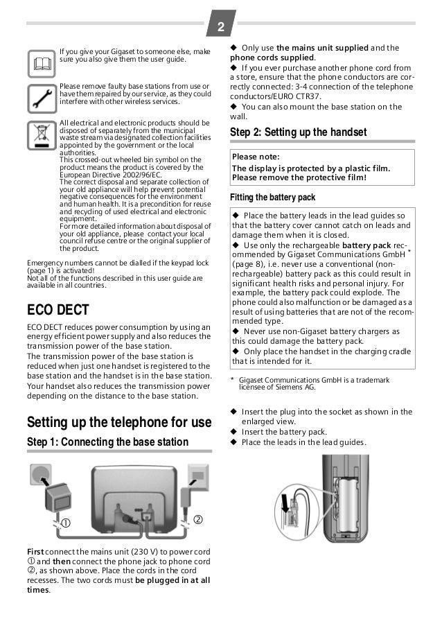 Siemens Gigaset Al14h инструкция