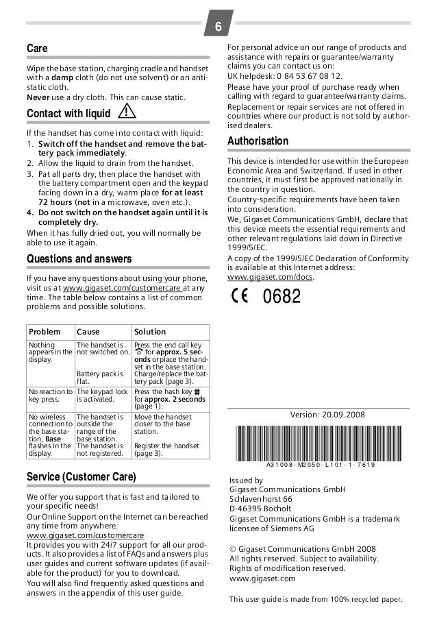 gigaset al14h handset manual rh slideshare net siemens gigaset al140 manual english siemens gigaset al14h manual english