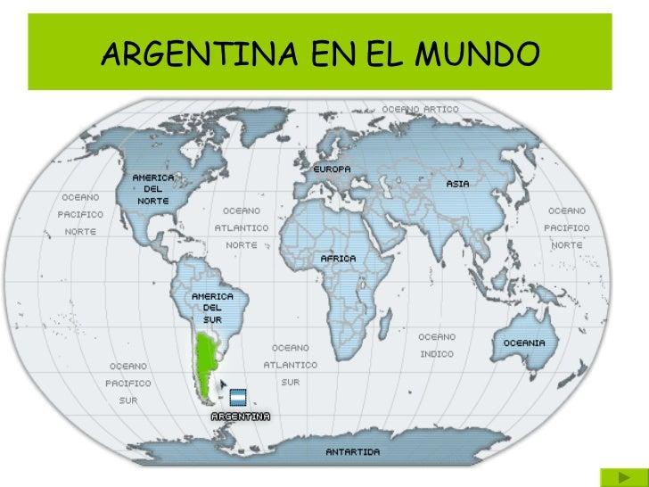 ARGENTINA EN EL MUNDO