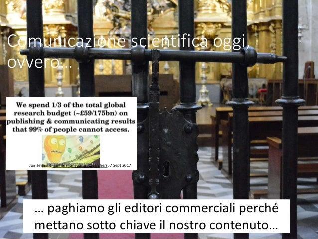 Comunicare la scienza oggi (E. Giglia   Genova, dicembre 2017) Slide 3