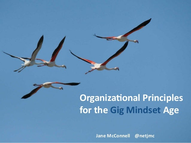 Organiza(onal	Principles	 for	the	Gig	Mindset	Age Jane	McConnell				@netjmc