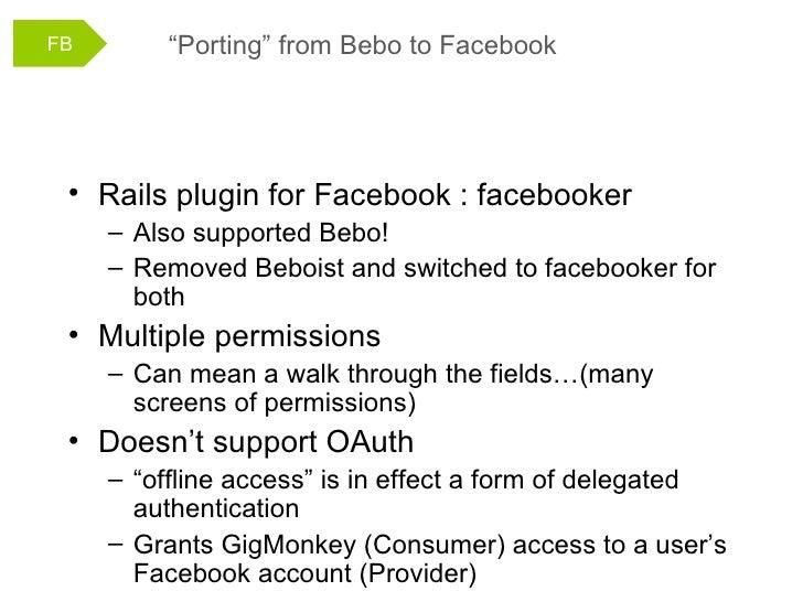 Gig Monkey at Facebook Garage Ireland 2