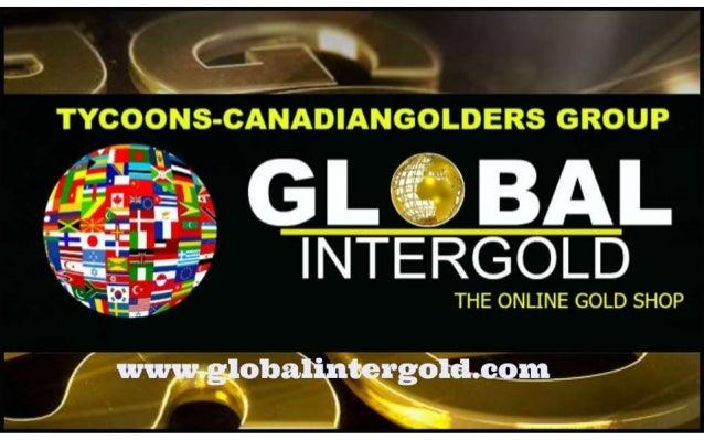 www.globalintergold.com International Physical Gold Trading