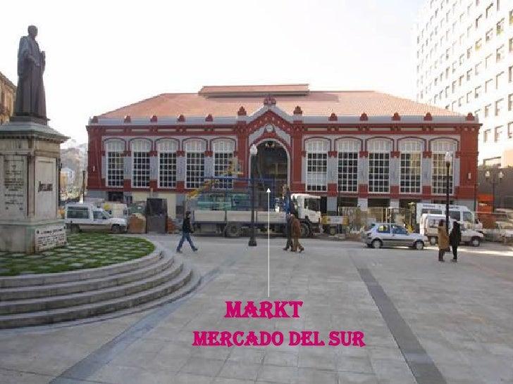 markt Mercado del sur