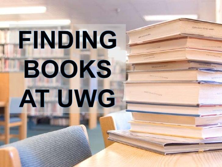 FINDINGBOOKSAT UWG<br />