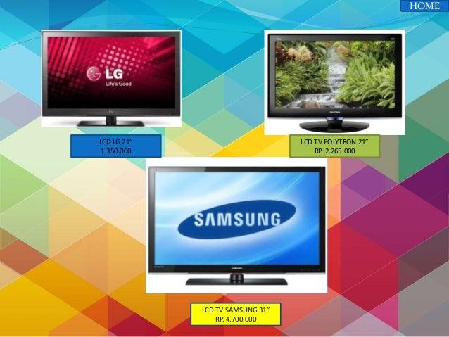 Power Point Iklan Penjualan Barang Elektronik