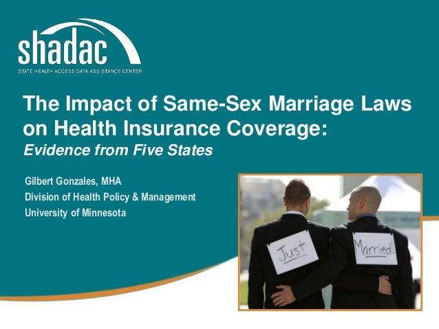 Same sex health insurance coverage