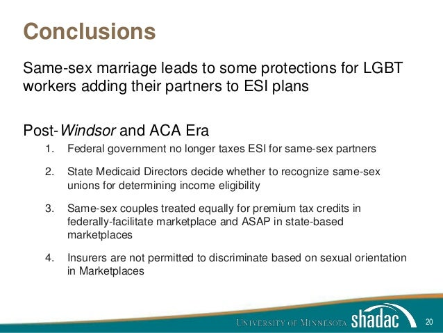 tax conditions for same sex marriage What married same-sex if you live in a state that allows same-sex marriage what married same-sex couples need to know about filing income taxes.