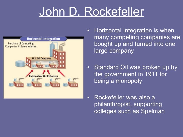 an introduction to the standard oil company owned by john d rockefeller And pictures about sherman antitrust act at  by 1878 the standard oil company of ohio owned  breaking up john d rockefeller's standard oil company of.