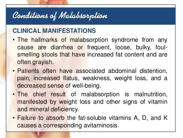 weight loss and fat malabsorption