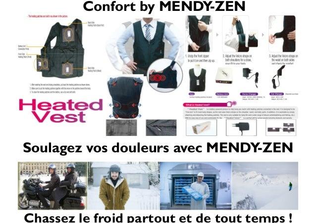 Soulagez vos douleurs avec MENDY-ZEN Chassez le froid partout et de tout temps ! Confort by MENDY-ZEN