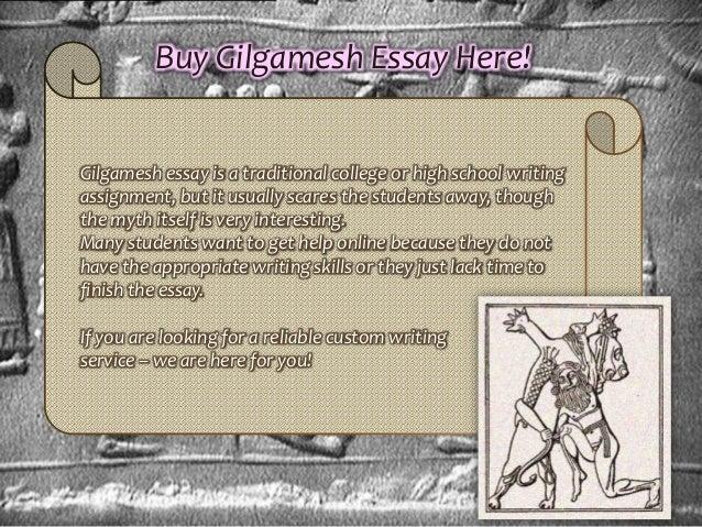 Gilgamesh essays