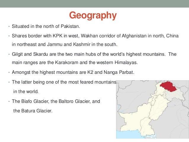 Gilgit baltistan Slide 2